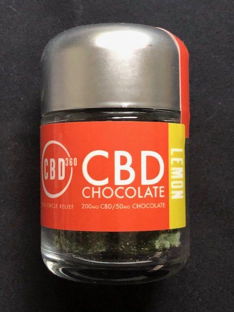 CBD Chocolate Lemon