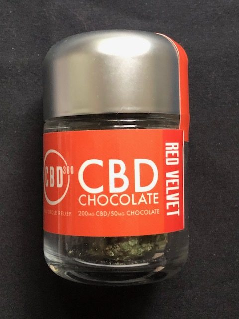 CBD Chocolate Red Velvet