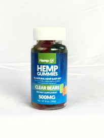 HEMP GUMMIES 500 MG – All Natural Hemp Sleep Aid