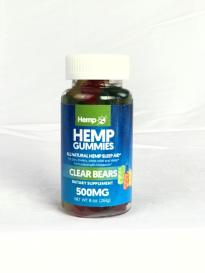 HEMP GUMMIES 500 MG – All Natural Hemp Sleep Aid